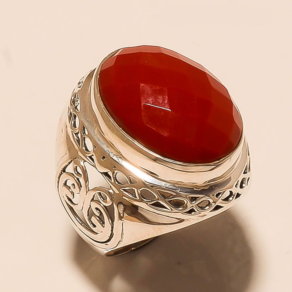 Red coral gemstone and planet Mars