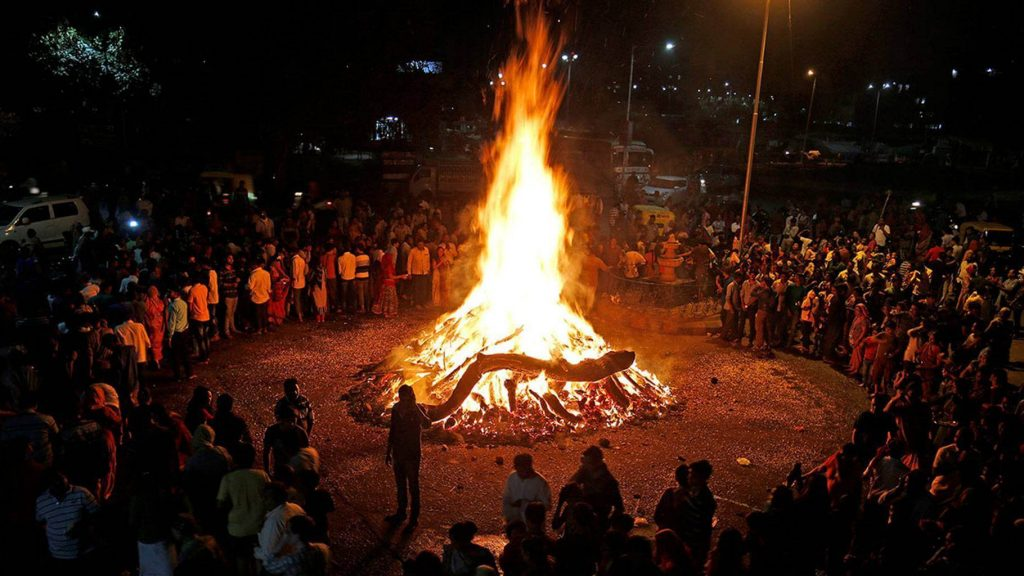 The mythology of Holika Dahan