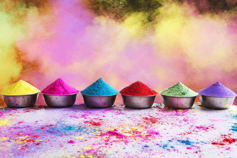 Colours for Holi