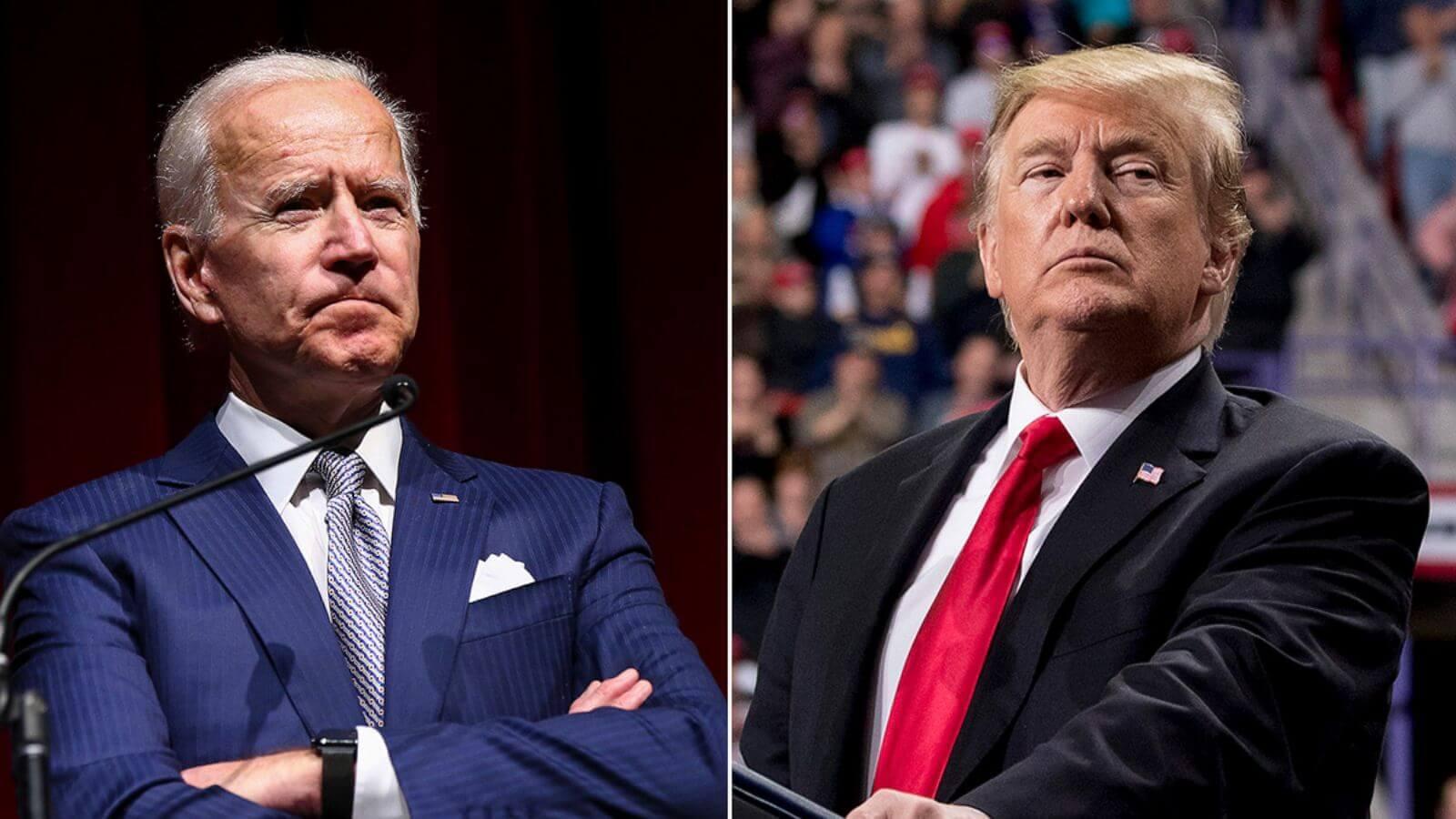 Joe bidden vs donald trump