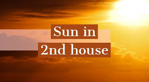 Sun in Second House