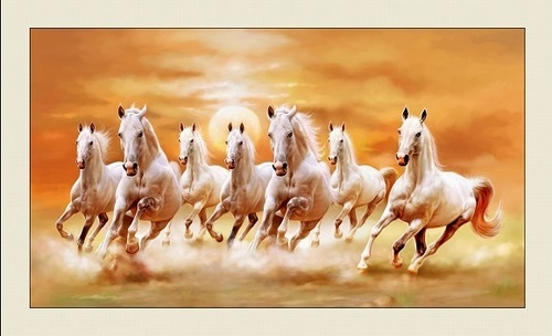Painting of seven horses: Significance and Benefits