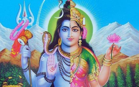 """भगवान शिव के अनोखे """"अर्धनारीश्वर"""" अवतार की पौराणिक कथा"""