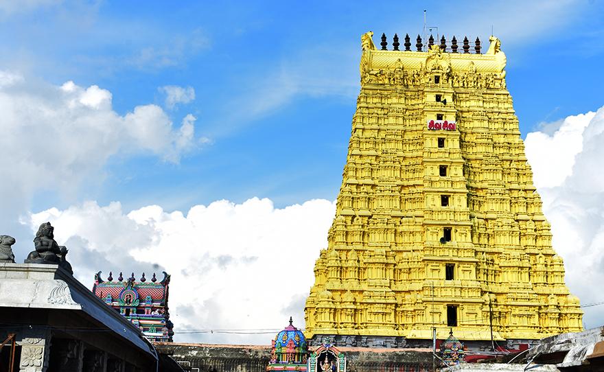 Ramanathaswamy Jyotirlinga in Rameshwaram