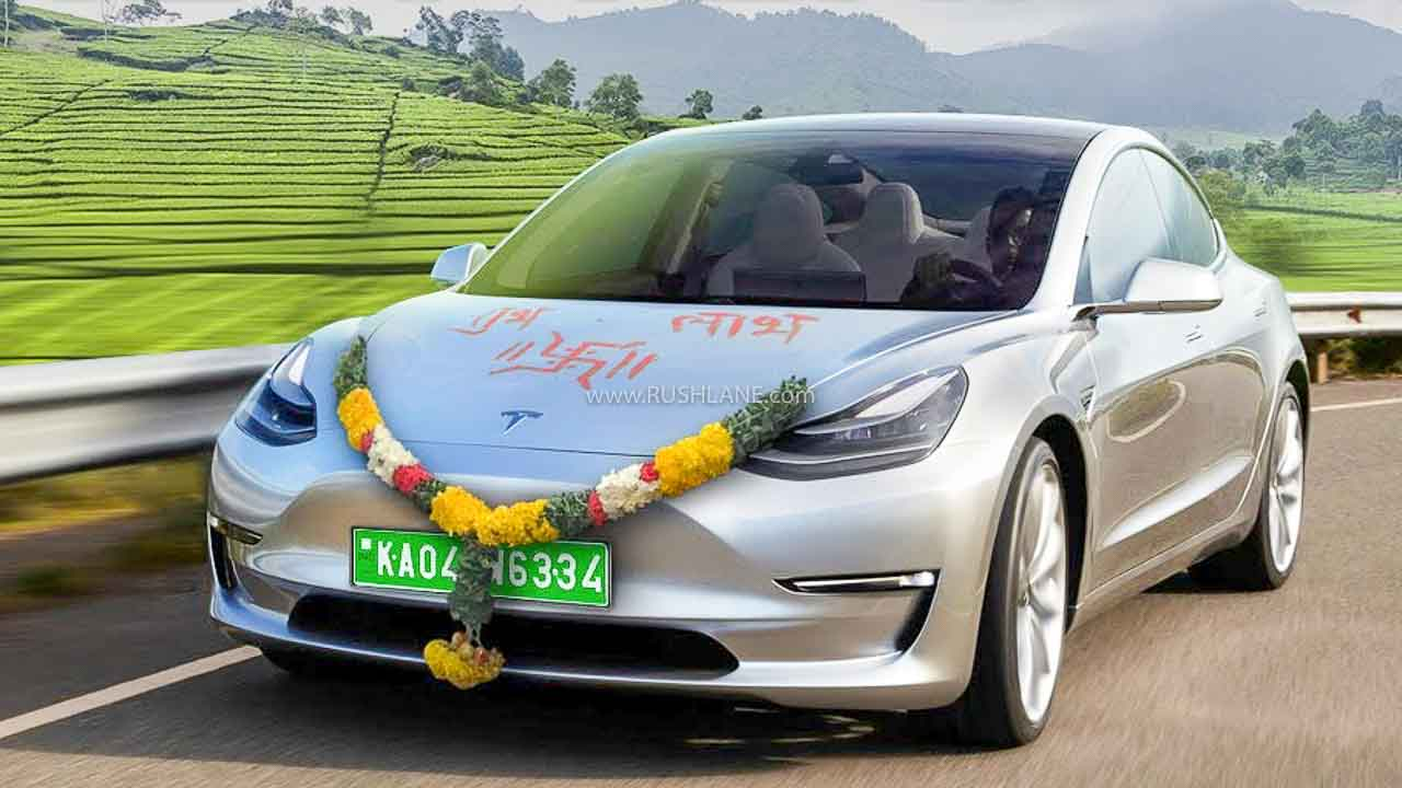 Tesla On Indian Roads