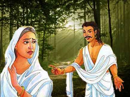 The curse of Yudhisthira