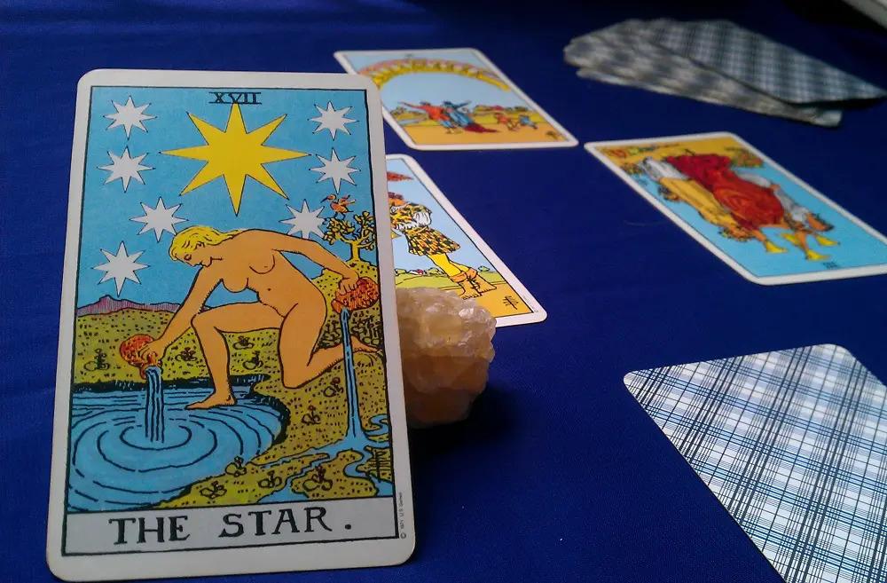 tarot card star