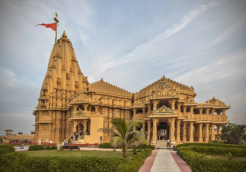 Somnath temple famous Shiva temples in india