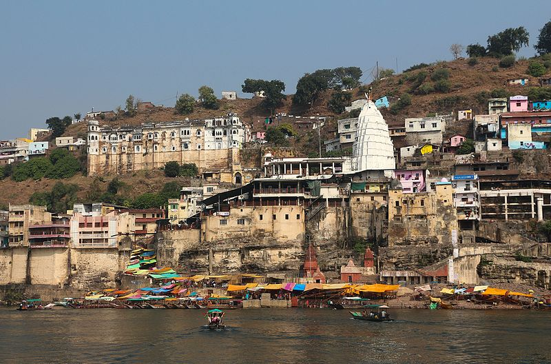 Omkareshwar temple in Madhya Pradesh
